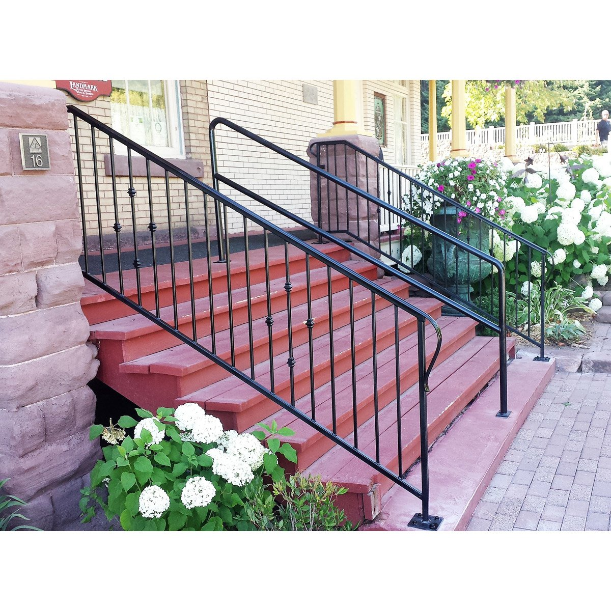 """Custom Decorative Rail Cap Railing"""