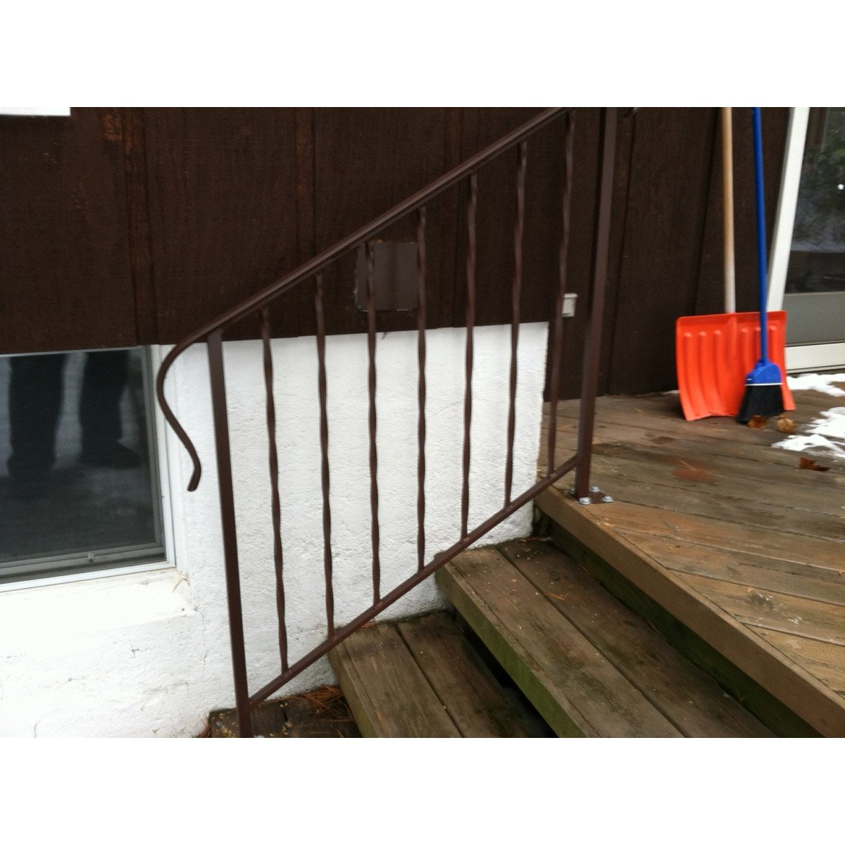 """Old English Railing"""