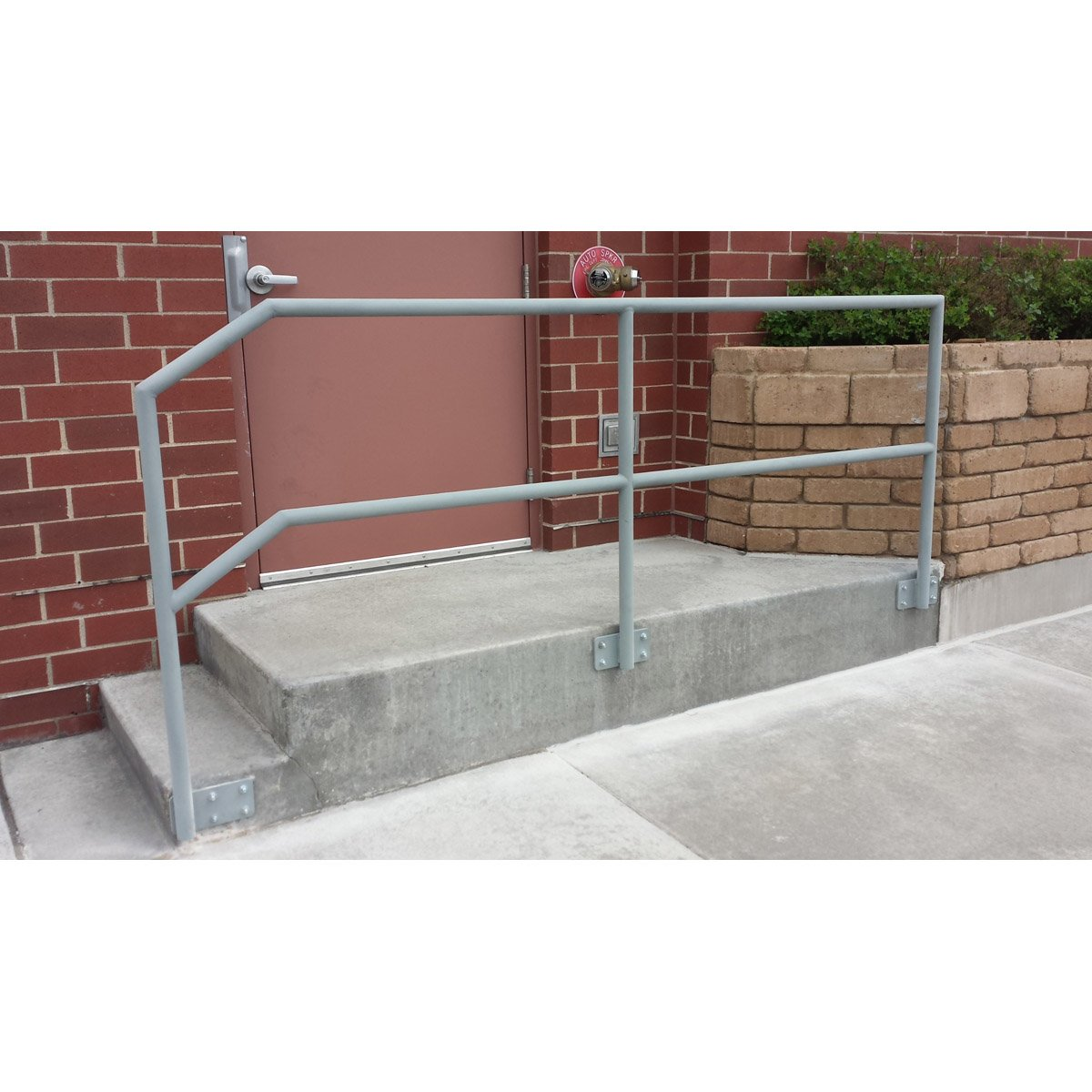 "The ""Piper"" - Round Pipe Railing"
