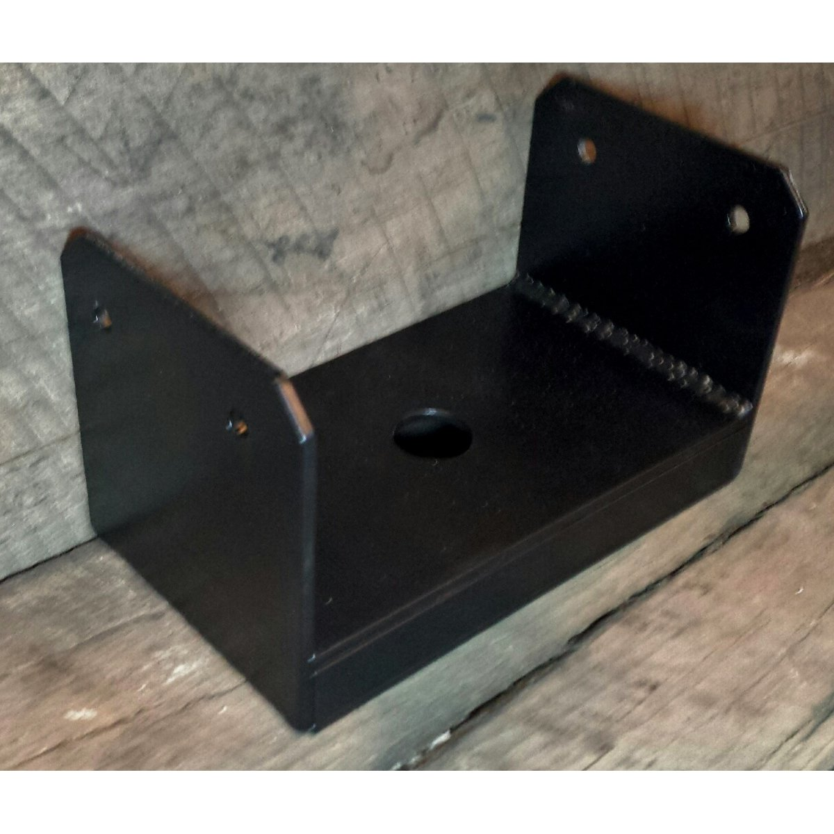 Uplift Post Base Brackets Painted Black