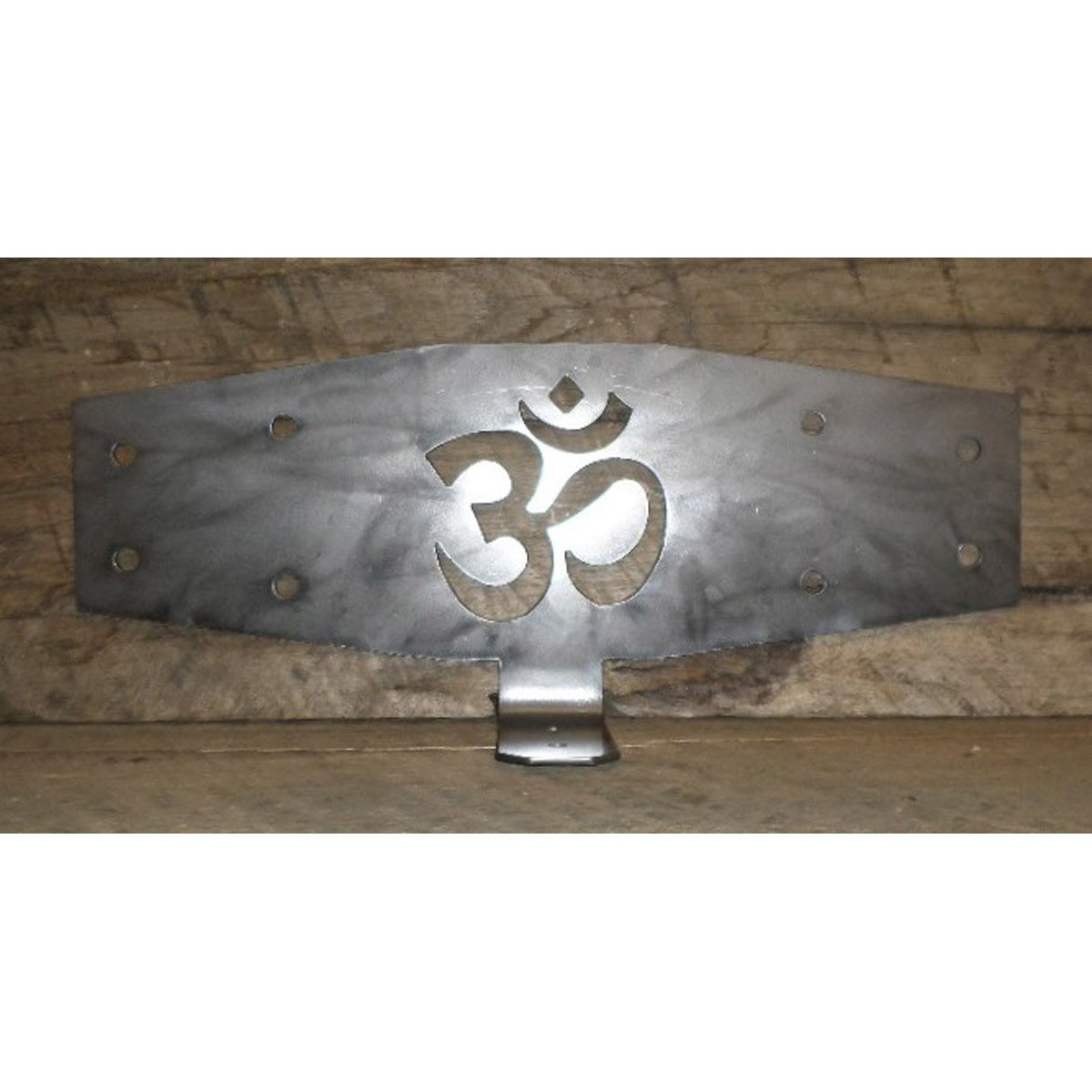 Decorative Timber Connecting Bracket with Om Sign Cut Out