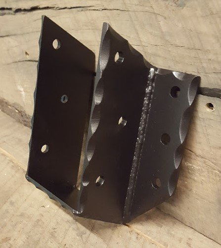 Cropped Bottom Angled Joist Hangers